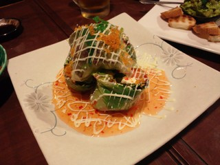 クリームチーズと海鮮の生春巻.JPG