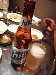 韓国ビール ハイト.JPG